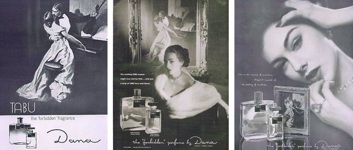 Рекламные плакаты Dana Tabu