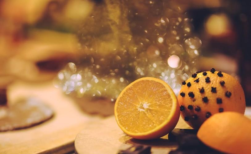Помандер из апельсина