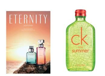 Calvin Klein Eternity Summer и CK One Summer 2012