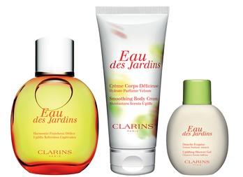 Eau Des Jardins новый аромат от Clarins