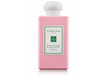 Jo Malone Green Almond & Redcurrant: зеленое и красное