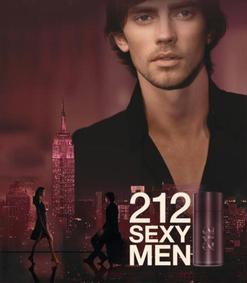 Постер Carolina Herrera 212 Sexy Men