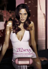 Постер Carolina Herrera 212 Sexy