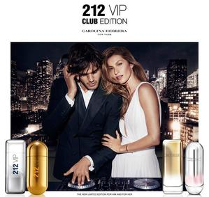 Постер Carolina Herrera 212 VIP Men Club Edition