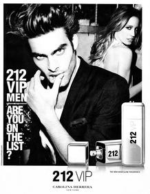 Постер Carolina Herrera 212 VIP Men