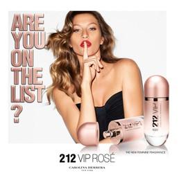 Постер Carolina Herrera 212 Vip Rosé