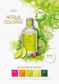 Постер 4711 Acqua Colonia: Lime & Nutmeg