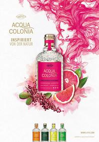 Постер 4711 Acqua Colonia : Pink Pepper & Grapefruit