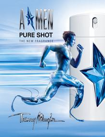 Постер Mugler A*men Pure Shot