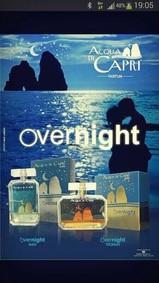 Постер Acqua Di Capri Overnight Woman