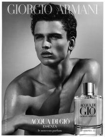 Постер Armani Acqua di Gio pour Homme Essenza