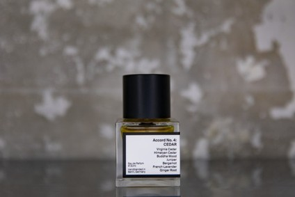 Постер AER Scents Accord No. 04 Cedar