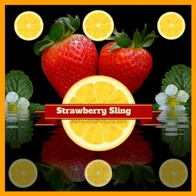 Постер Aether Arts Perfume Strawberry Sling