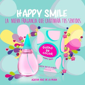 Постер Agatha Ruiz de la Prada Gotas De Color Happy Smile