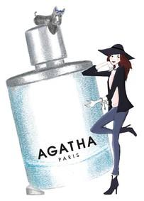 Постер Agatha Un Matin A Paris