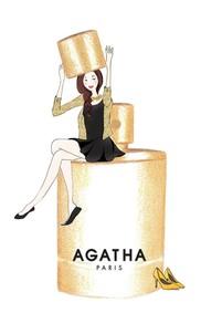 Постер Agatha Un Soir A Paris