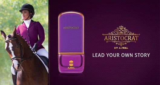 Постер Ajmal Aristocrat For Her