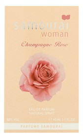 Постер Alain Delon Samouraï Woman Champagne Rose