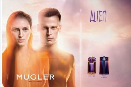 Постер Mugler Alien Man