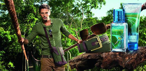 Постер Oriflame Amazonia for Him