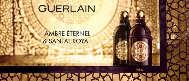Постер Guerlain Ambre Éternel