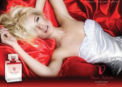 Постер Valeria Mazza Amor Infinito