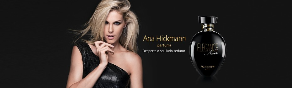 Постер Ana Hickmann Elegance Noir