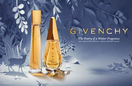 Постер Givenchy Ange Ou Démon Le Secret Poesie D'hiver