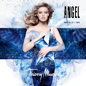 Постер Mugler Angel Eau Sucrée Limited Edition 2015