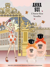 Постер Anna Sui L'Amour Rose Versailles Eau De Toilette