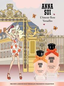 Постер Anna Sui L'Amour Rose Versailles