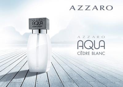 Постер Azzaro Aqua Cèdre Blanc