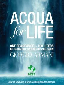 Постер Armani Aqua di Gio - Aqua di Life Edition