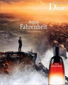 Постер Dior Aqua Fahrenheit