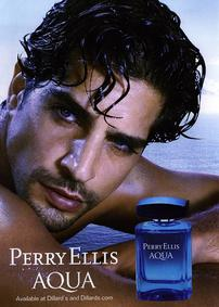 Постер Perry Ellis Aqua