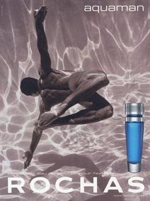 Постер Rochas Aquaman
