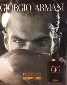 Постер Armani Acqua Di Gio Profumo Special Blend