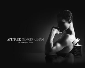 Постер Armani Attitude