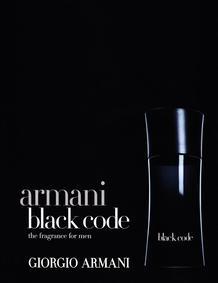 Постер Armani Code (Black Code)