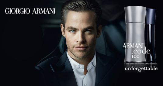 Постер Armani Code Ice