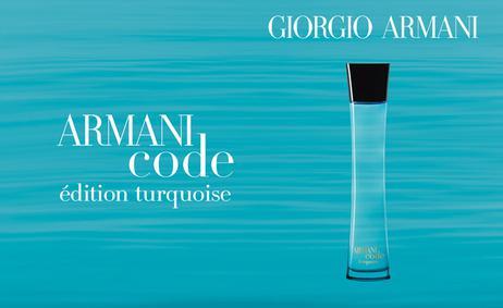 Постер Armani Code Turquoise