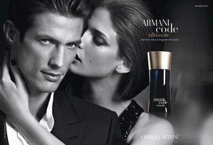Постер Armani Code Ultimate