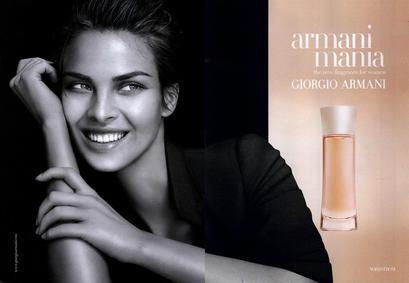 Постер Armani Mania pour Femme