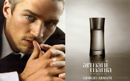 Постер Armani Mania pour Homme