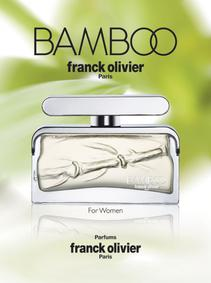 Постер Franck Olivier Bamboo for Women