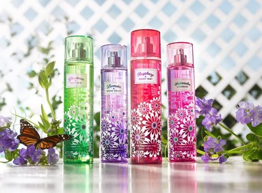 Постер Bath & Body Works Gardenia & Fresh Rain