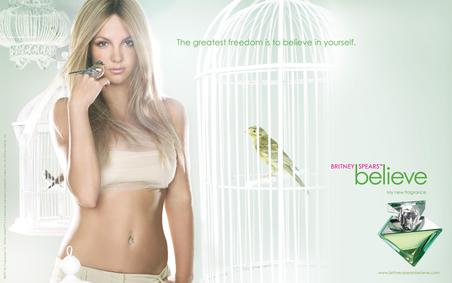 Постер Britney Spears Believe
