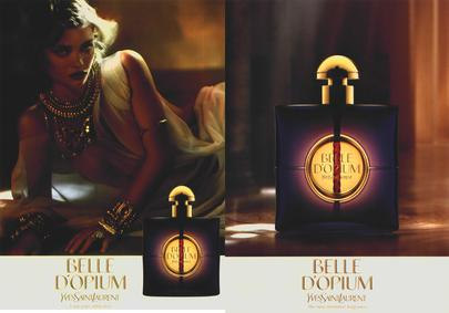 Постер Yves Saint Laurent Belle d`Opium