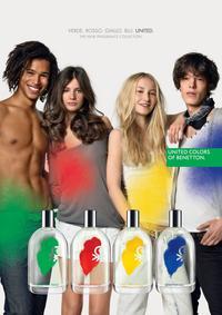 Постер Benetton Blu for Man