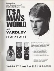 Постер Yardley Black Label